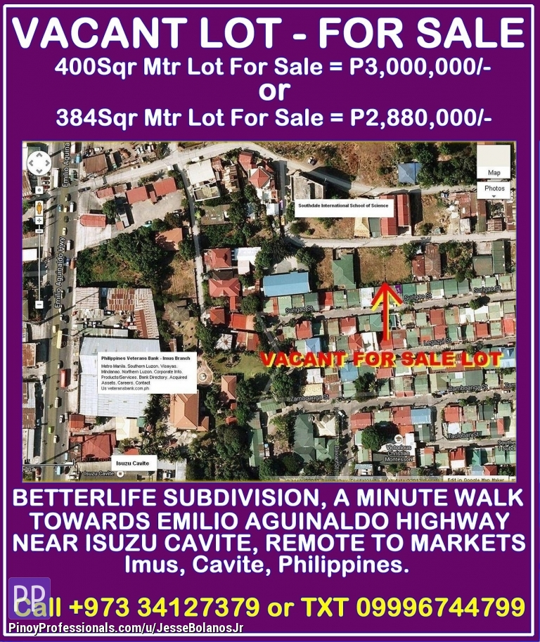 Land for Sale - Lot For Sale