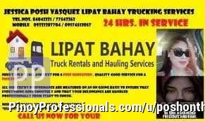 Transportation Services - POSH O THE GO !!! LIPAT BAHAY AND TRUCKING SERVICES