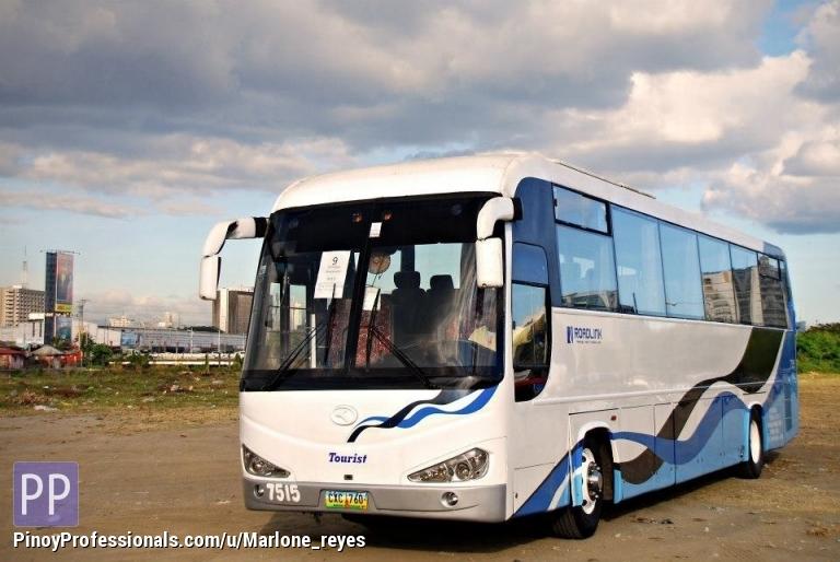 Transportation Services - Tourist Bus for Rent