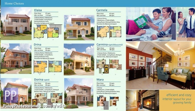 Camella Home Silang Cavite - Real Estate/House for Sale in