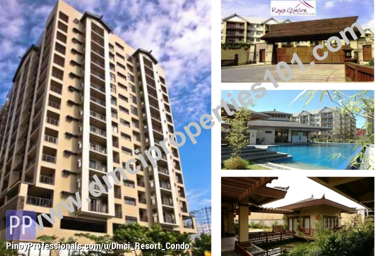 Apartment and Condo for Sale - Ready for Occupancy condo in Paranaque 2-bedrooms Raya Garden