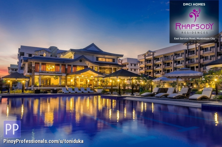 Apartment and Condo for Sale - Condo In Muntinlupa City/ Rhapsody Residences/ DMCI Homes