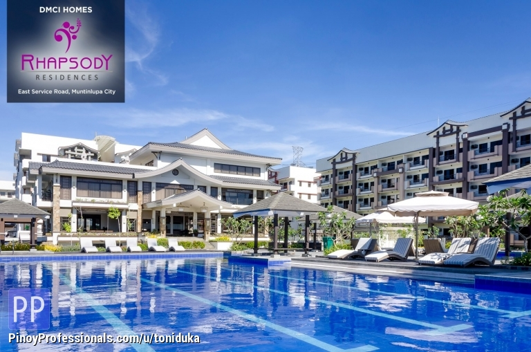 Apartment and Condo for Sale - 2br Condo In Rhapsody Alabang