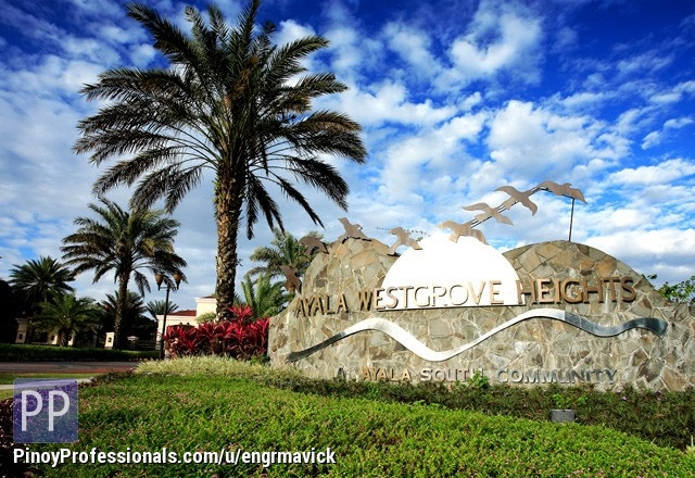 Land for Sale - Ayala Westgrove lot for Sale