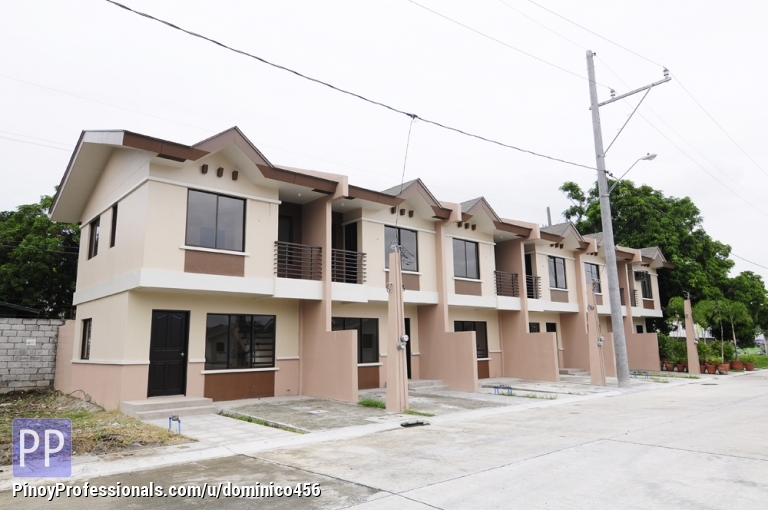 Townhouses in laguna near alabang district willow park homes for Townhouse design philippines