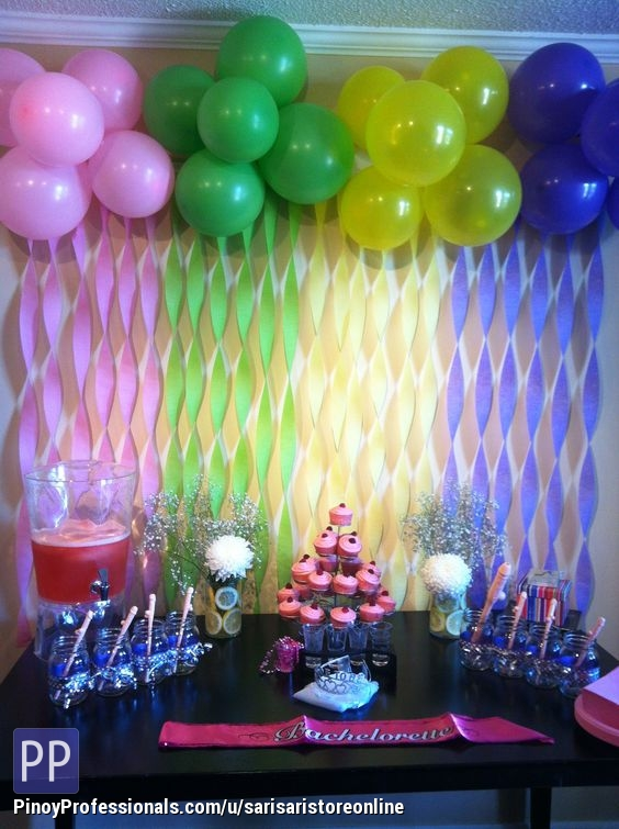 Balloon decoration for your event at affordable price sta for Balloon decoration for birthday party philippines