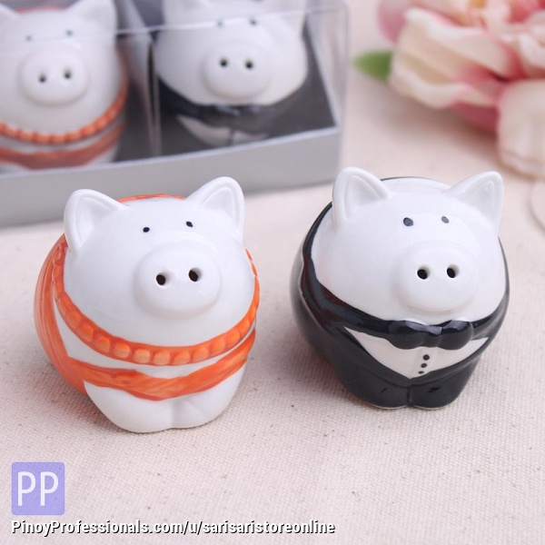 Arts and Crafts - Wedding Souvenir Philippines - Salt and pepper pig shaker
