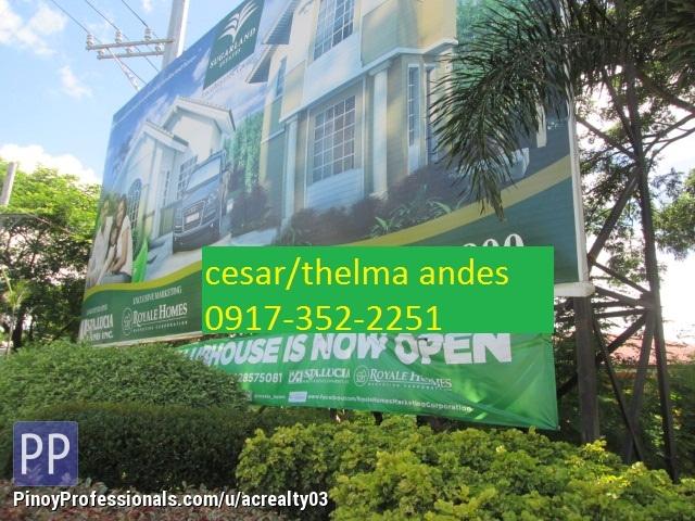 Land for Sale - Sugar land Estates Trece Martires Cavite
