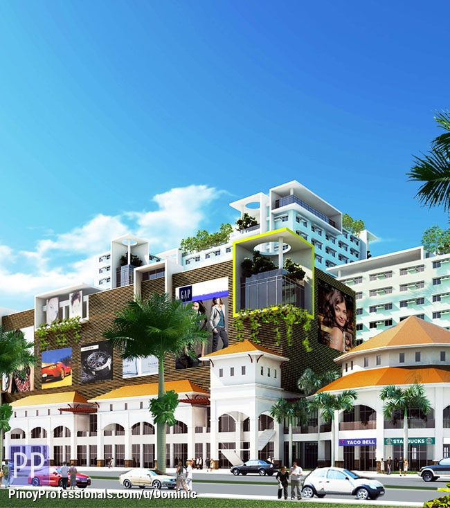 Apartment and Condo for Sale - Studio unit condominium for affordable amount at Tropicana Garden City in Marikina City