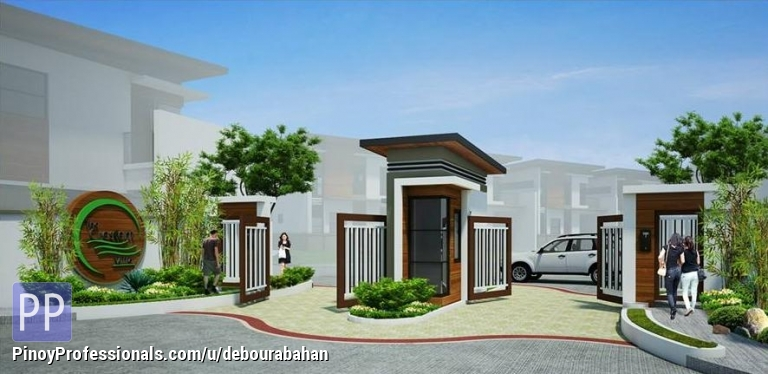 House for Sale - Available House and Lot at The Crescent Ville Subdivision in Cadulawan, Minglanilla, Cebu