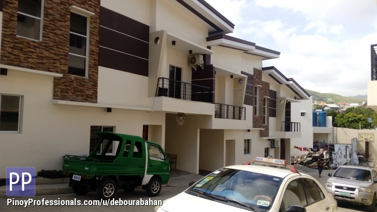 House for Sale - 3 Bedrooms Townhouse for sale at Banawa, Cebu City