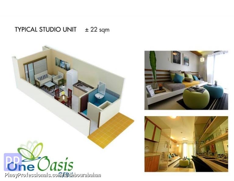 Land for Sale - Studio Unit available at One Oasis Cebu, Cebu City