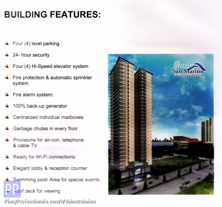 Apartment and Condo for Sale - 1-Bedroom unit available for sale near SM City and Robinson Galleria Cebu