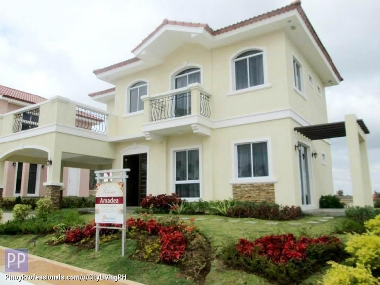 House for Sale - AMADEA House and Lot in Suntrust Verona Single Detached near Tagaytay and Nuvali