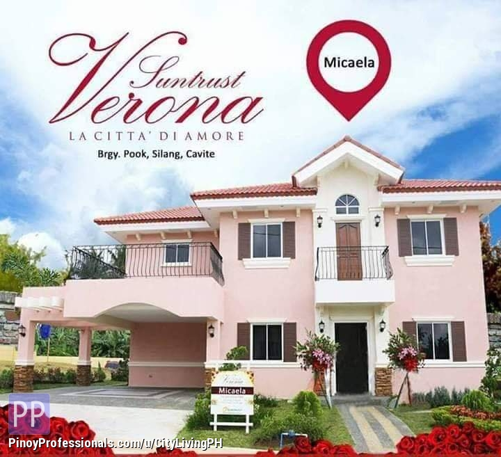 House for Sale - 4BR Single Detached House and Lot in Sta Rosa - Silang - Tagaytay Suntrust Verona