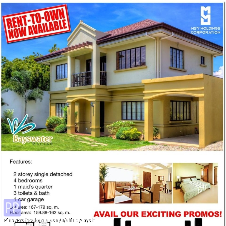 Rent To Own House And Lot In Lapu Lapu City