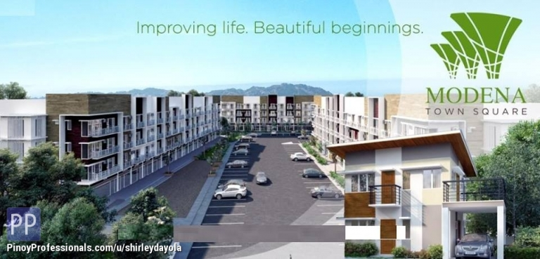 House for Sale - Pre-Selling House & Lot for sale at Modena Town Square, along Highway of Minglanilla Cebu