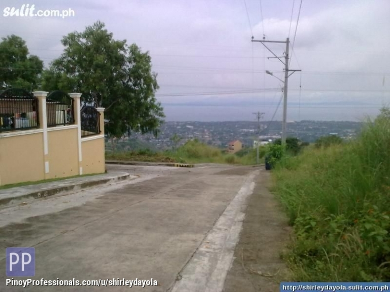 Land for Sale - Overlooking Lot for Sale Inside Subdivision, with 3 Years to Pay Free Interest