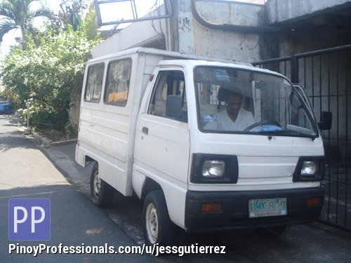 Misc Autos - Multicab for hire van lipat