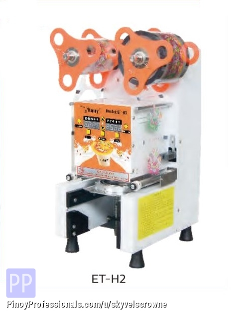 Business and Industrial - ETON FULLY AUTO COMMERCIAL CUP SEALING MACHINE ET-H2