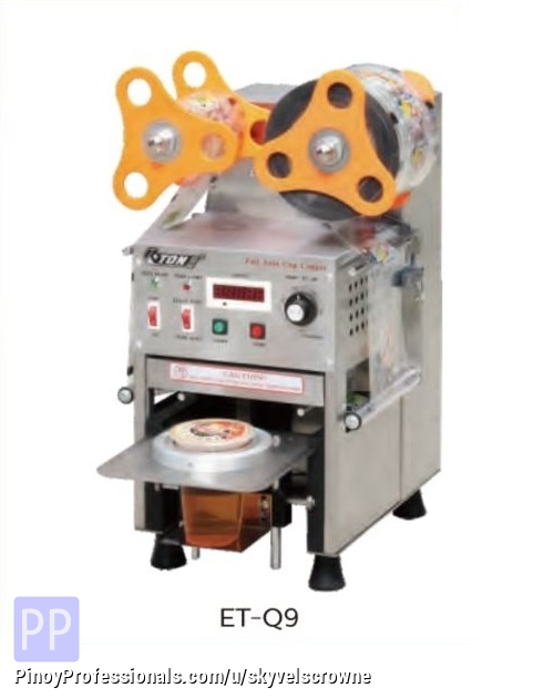 Business and Industrial - ETON STAINLESS STEEL CUP SEALING MACHINE ET-Q9