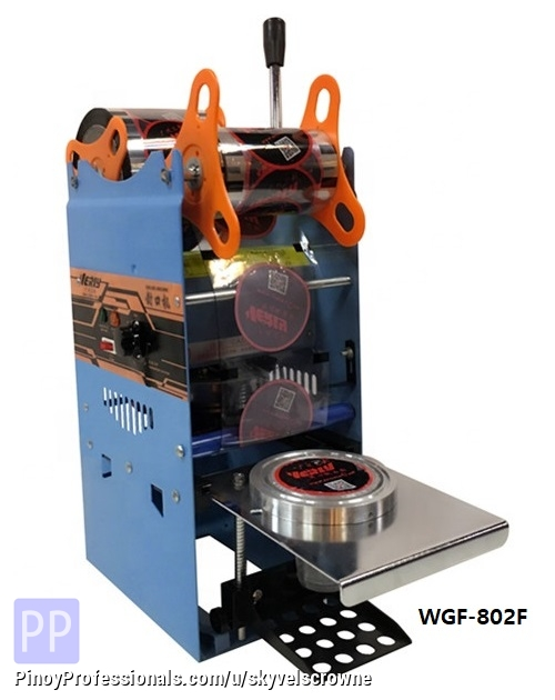Business and Industrial - CUP SEALER MANUAL SEALING MACHINE WY-802F VERLY