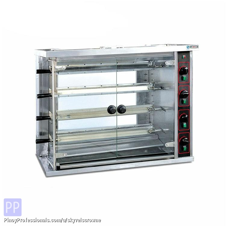 Everything Else - GAS CHICKEN ROTISSERIE/ CHICKEN GRILL JGT-4P