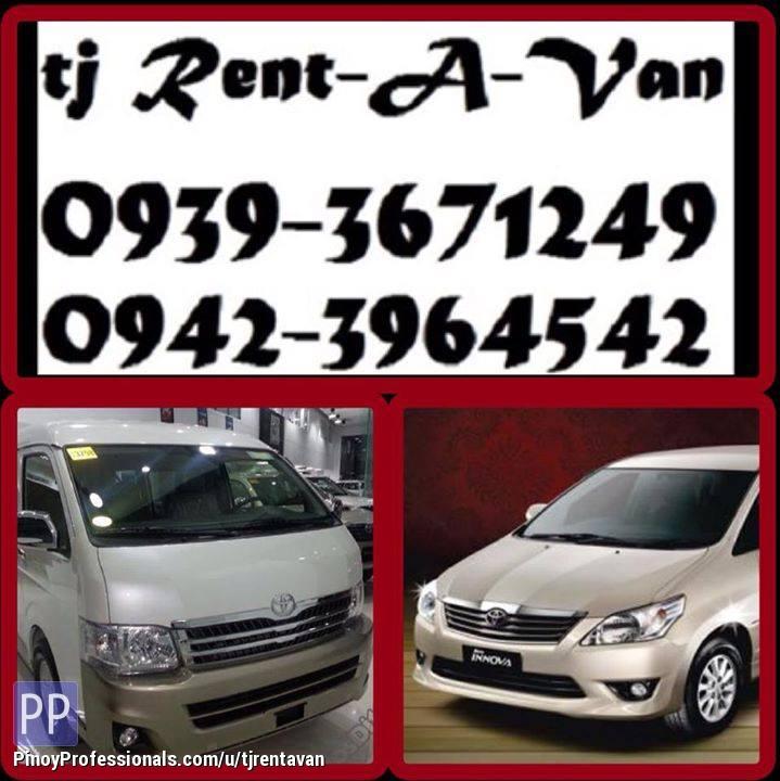Transportation Services - ••TJ RENT-A-VAN••