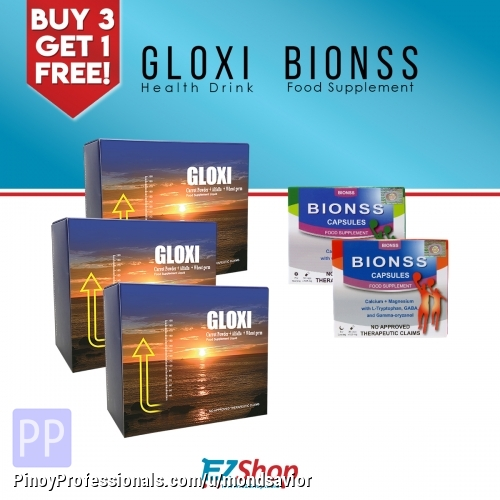 Health and Beauty - Gloxi Health Drink Buy 3 GET 1 BIONSS SET FOR FREE