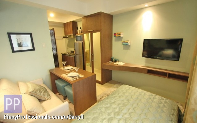Affordable condominium in makati near greenbelt for Interior designs for studio type condo