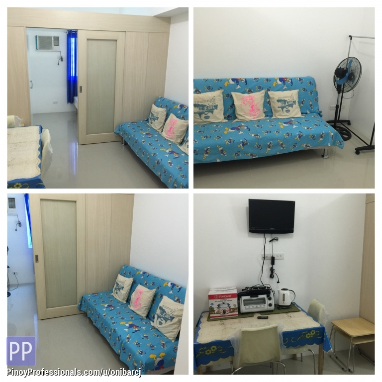 One Bedroom Condos For Rent: SMDC Light Residences 1 Bedroom Fully Furnished Amenity View