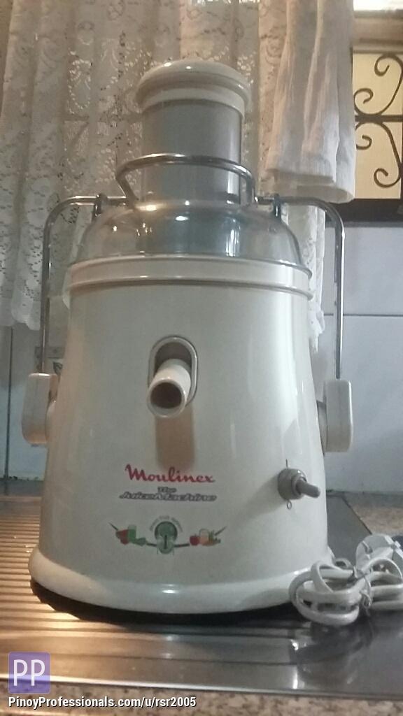 Home and Garden - Moulinex Juice Extractor Machine