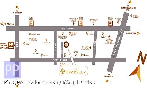 Apartment and Condo for Sale - The Orabella Cubao 2BR 57sqm Condo in Quezon city near SM Cubao