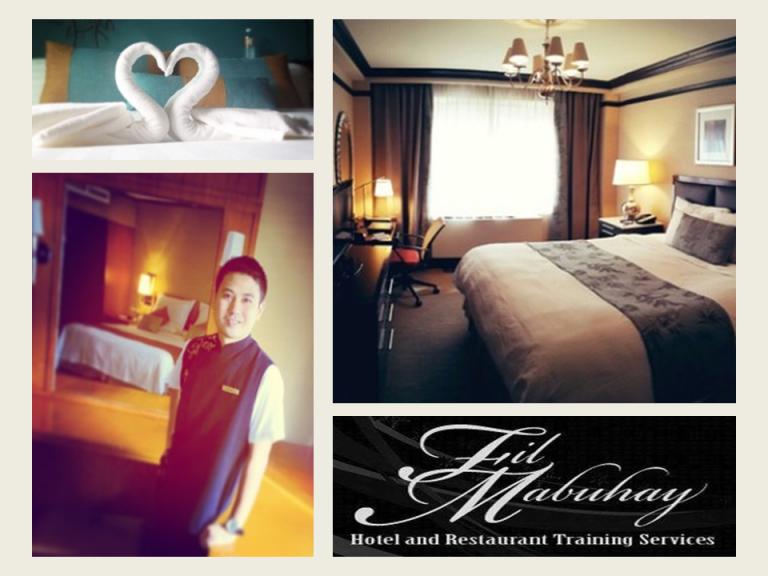 Hotel Housekeeping Training Seminar Workshop With NCII Tesda Cert