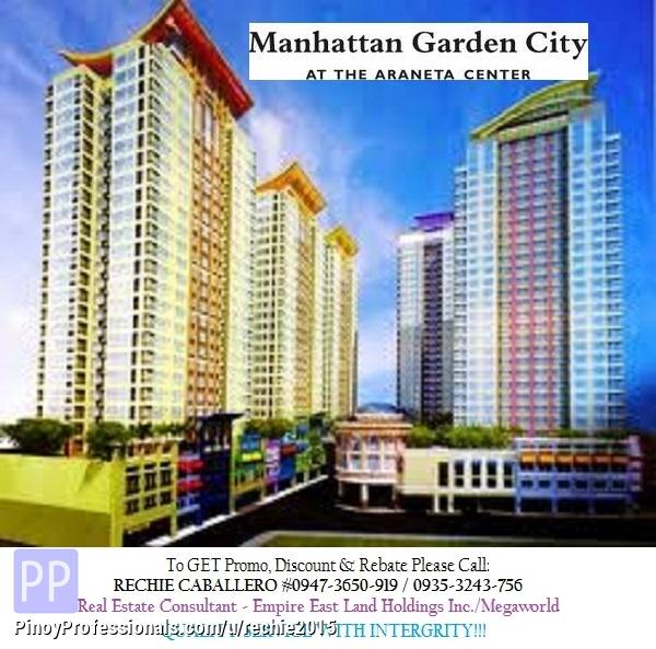 Manhattan Condo Staycation Cubao Home: Manhattan Garden City Condominium In Quezon City Araneta