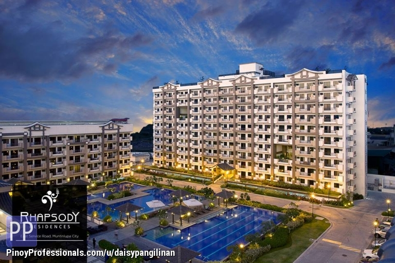 2 Bed Room Unit Condo For Sale In Muntinlupa Near Alabang Rhapsody Residences