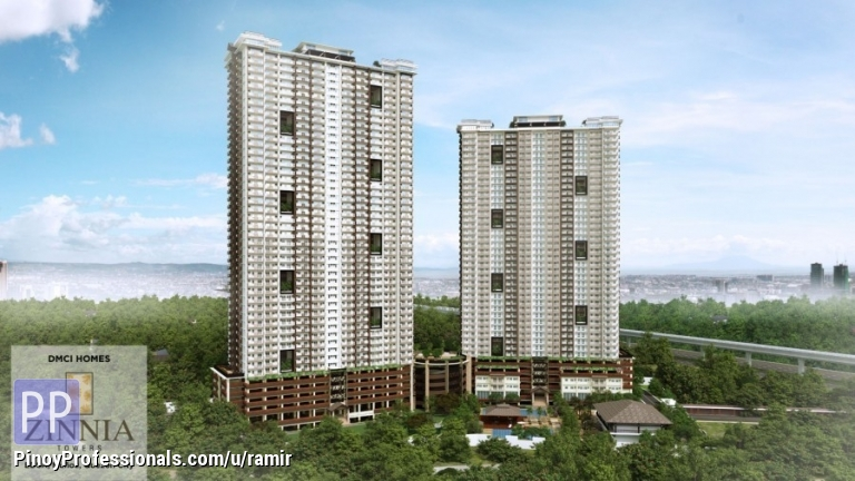 Apartment and Condo for Sale - affordable condo for sale in quezon city. zinnia towers by dmci homes