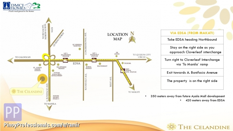Apartment and Condo for Sale - affordable condo for sale in quezon city. the celandine by dmci homes