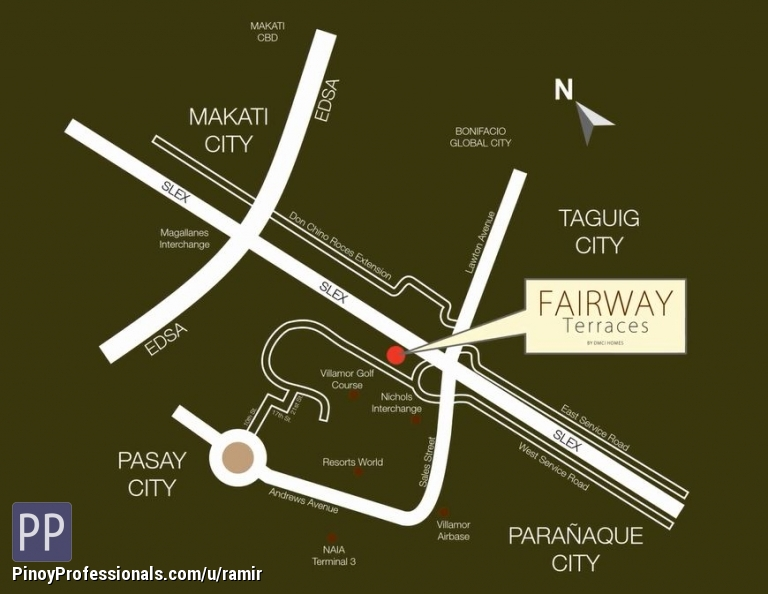 Apartment and Condo for Sale - affordable condo for sale in pasay city. fairway terraces by dmci homes