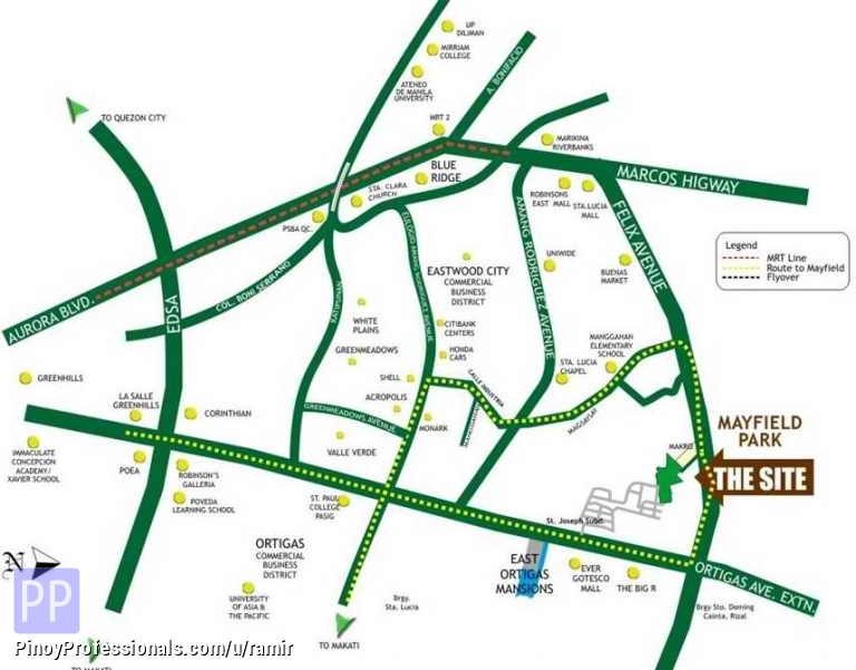 Apartment and Condo for Sale - affordable condo for sale in pasig city. mayfield park residences by dmci homes