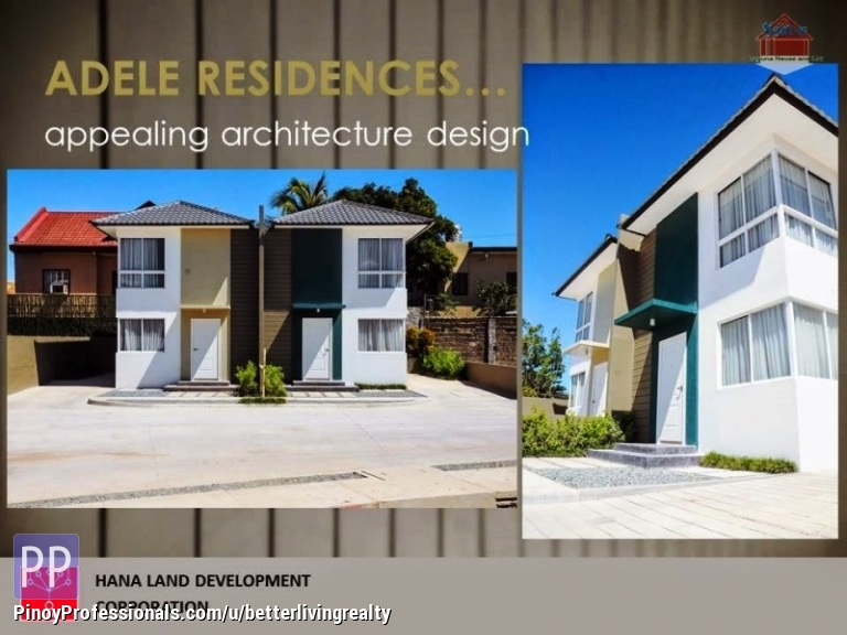 house and lot for sale adele residences san pedro laguna