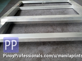 Clothing and Accessories - Welded aluminum machine frame