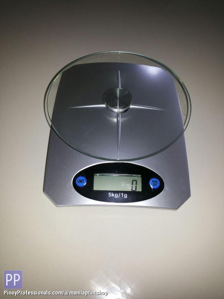 Electronics and Gadgets - Digital LCD Electronic Glass Platform Weighing Scalesup