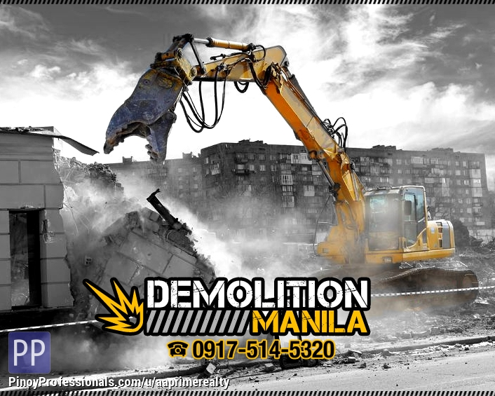 Construction Services - Looking for Demolition Contractor in Manila?