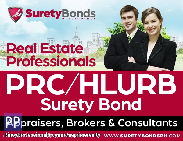Specialty Services - Hassle-FREE PRC/HLURB Surety Bond
