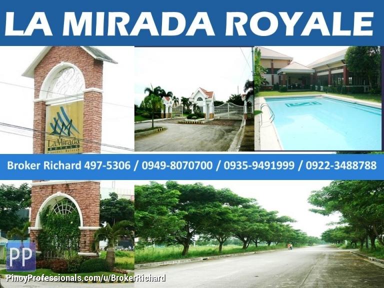Land for Sale - LA MIRADA ROYALE Plaridel Bulacan Lots = 5,200/sqm to 5,700/sqm