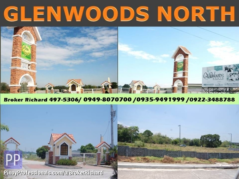 Land for Sale - GLENWOODS NORTH Sta Maria Bulacan Lots = 4,500/sqm