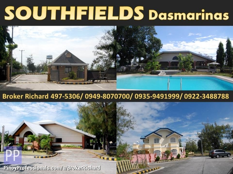 Land for Sale - SOUTHFIELD Dasmarinas Lots = 5,200/sqm and 5,400/sqm