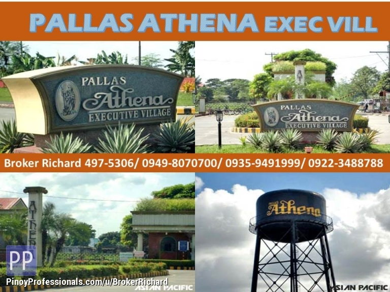 Land for Sale - PALLAS ATHENA EXECUTIVE VILLAGE Imus Cavite Subdivision Lots = 6,600/sqm
