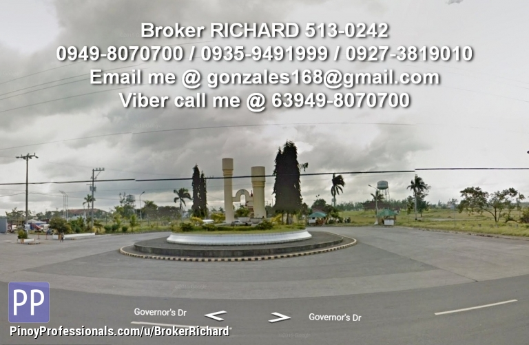 Land for Sale - BANK FORECLOSED Lots @ METRO SOUTH Gen Trias CAVITE = 3,700/sqm